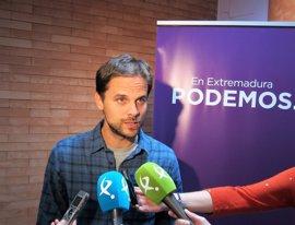 Álvaro Jaén, reelegido secretario general de Podemos en Extremadura
