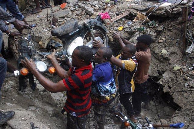 Demoliciones en la ciudad de Lagos
