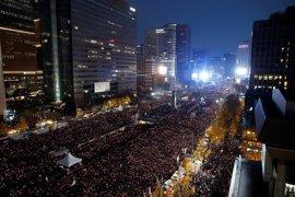 Medio millón de personas exigen en Seúl la dimisión de la presidenta de Corea del Sur