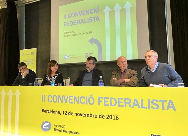 Patxi López, Francina Armengol, Manuel Cruz i Pere Navarro