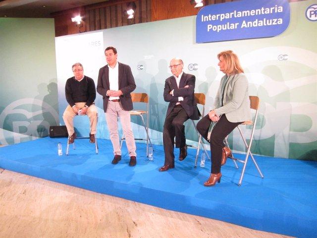 Zoido, Moreno, Montoro y Báñez en Córdoba