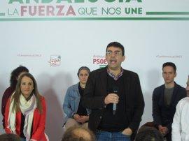 """Jiménez (PSOE) espera que las primarias de Podemos """"no signifiquen la victoria"""" de sus sectores """"más antisocialistas"""""""
