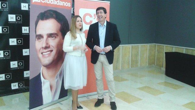 Juan Marín y Raquel Morales