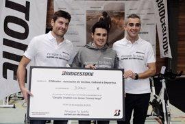 Javier Gómez Noya y Bridgestone reúnen a más de 280 participantes en el 'Desafío Triatlón'