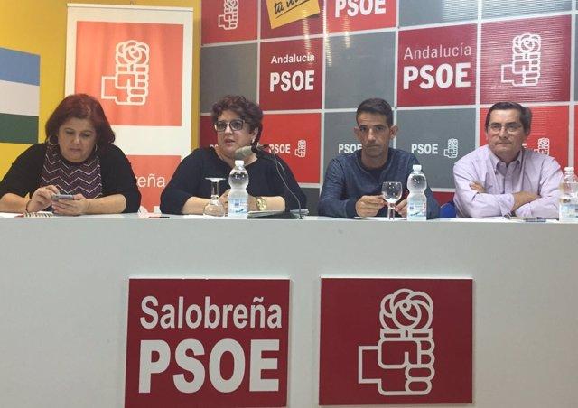 Encuentro del PSOE en Salobreña (Granada)