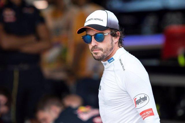 Fernando Alonso en el GP de Austria