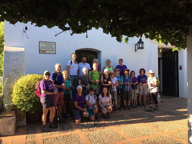 Grupo de Nordic Walking en Huelva