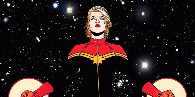 Capitana Marvel cómic