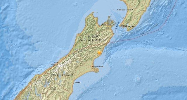 Al menos dos personas muertas por el terremoto en Nueva Zelanda