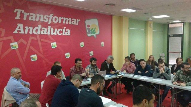 Reunión de IU sobre educación