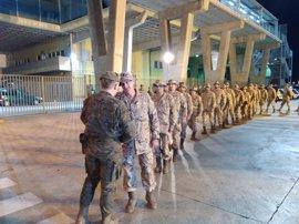 Un segundo contingente de 70 militares de Melilla parte a Irak