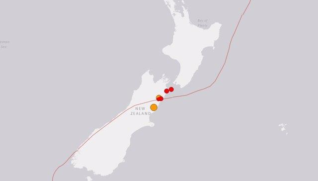 Cadena de terremotos en Christchurch, noviembre de 2016