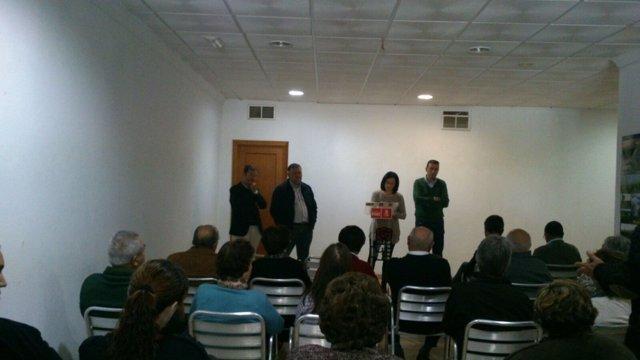 Encuentro del PSOE en Fuente Palmera (Córdoba)