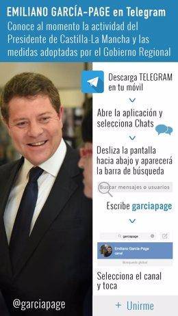 Page Telegram