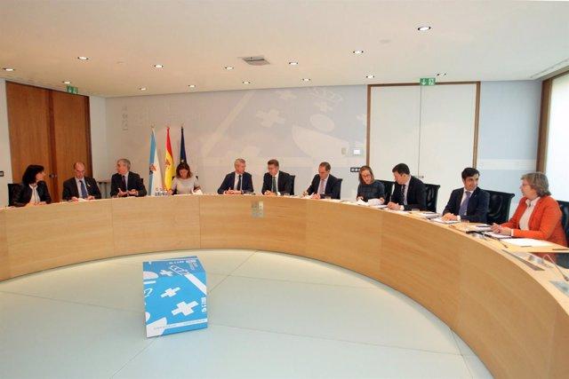 O titular do Goberno galego en funcións, Alberto Núñez Feijóo, presidirá a reuni
