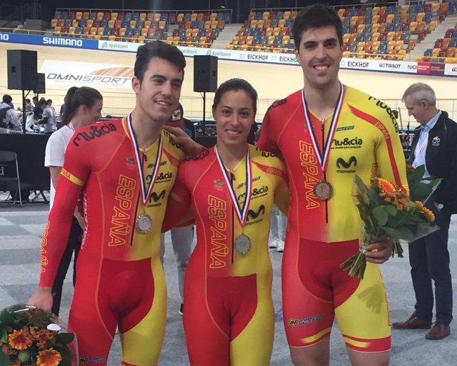 Tania Calvo hace pleno y España cierra con cinco medallas en Apeldoorn