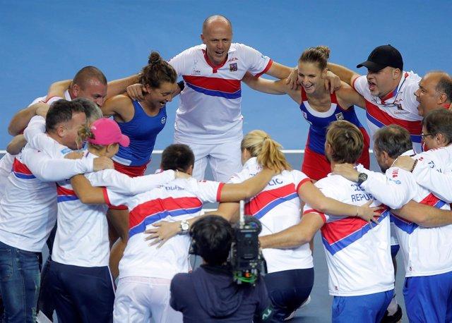 República Checa gana la Copa Federación