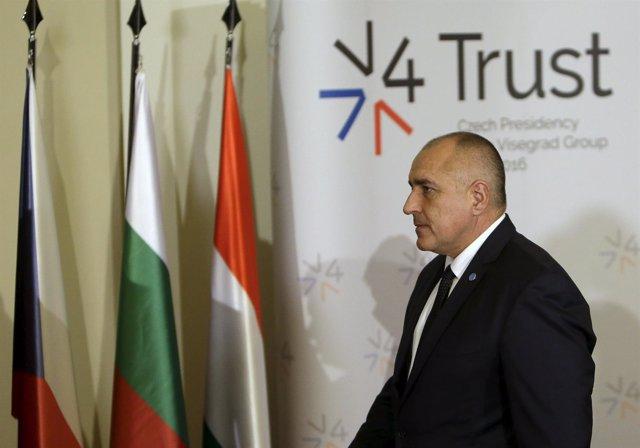 El primer ministro de Bulgaria, Boiko Borisov