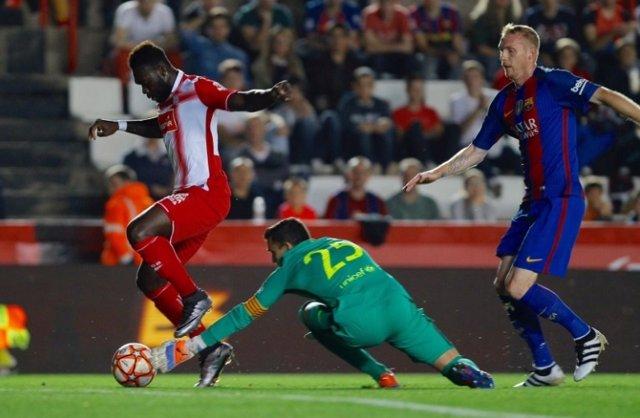 Caicedo decide la Supercopa de Catalunya en favor del Espanyol