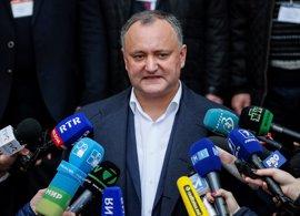 El presidente electo de Moldavia quiere que se celebren elecciones parlamentarias anticipadas
