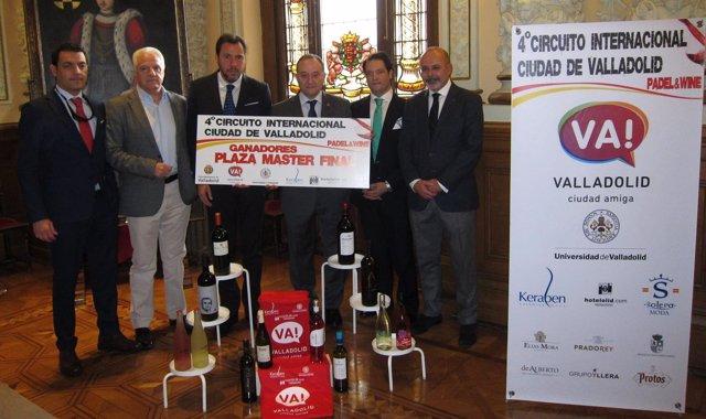 Presentación del circuito 'Padel & Wine' Ciudad de Valladolid