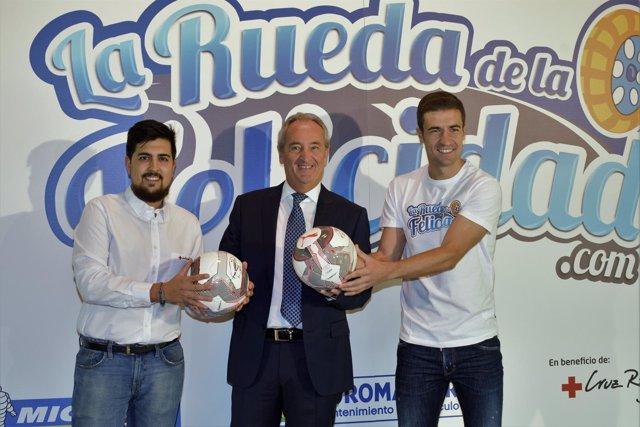 La rueda de la felicidad Gabi , Carlos Cortes y Fausto Casetta