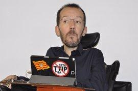 "Echenique pide un congreso de Podemos integrador, sin ""batalla"" entre Iglesias y Errejón"