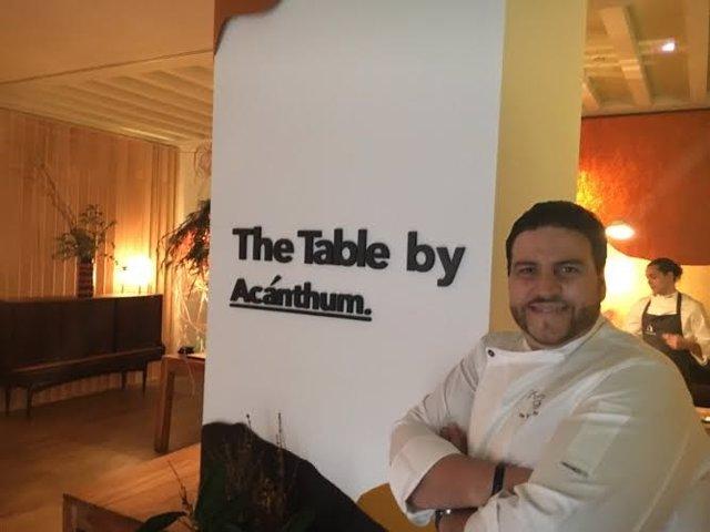 El chef Xanty Elías.