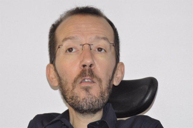 El secretario general de Podemos Aragón, Pablo Echenique.