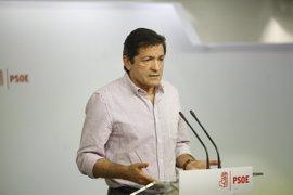 """Javier Fernández ve """"muy remotas"""" las posibilidades de que el PSOE apoye los Presupuestos"""