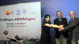 Los veteranos del Barça ayudarán a los refugiados de Grecia