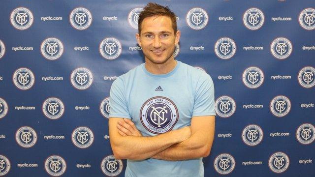 Lampard jugará con David Villa en el New York City