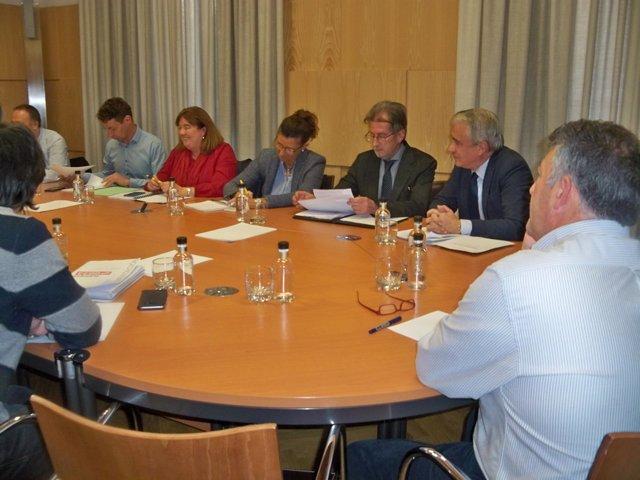 Reunión de seguimiento del Plan de las Cuencas Mineras