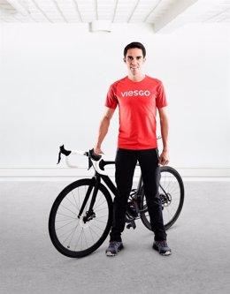 Alberto Contador En Santander