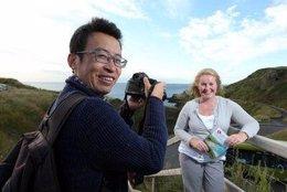 Fan Yibo málaga capital bloguero viajes promoción turismo turista china chino