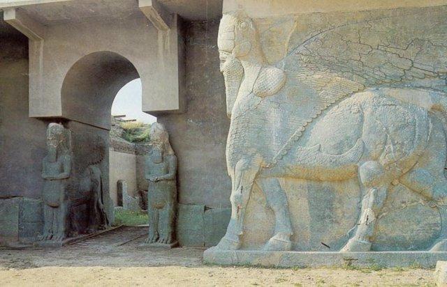 Nimrud, Siria