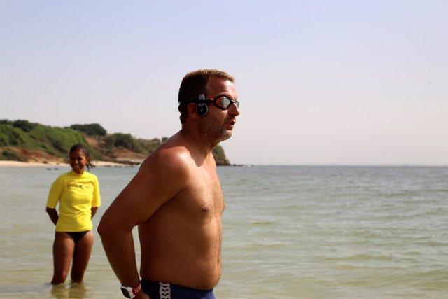 Ben Hooper, el inglés que quiere convertirse en el primero en cruzar el Atlático