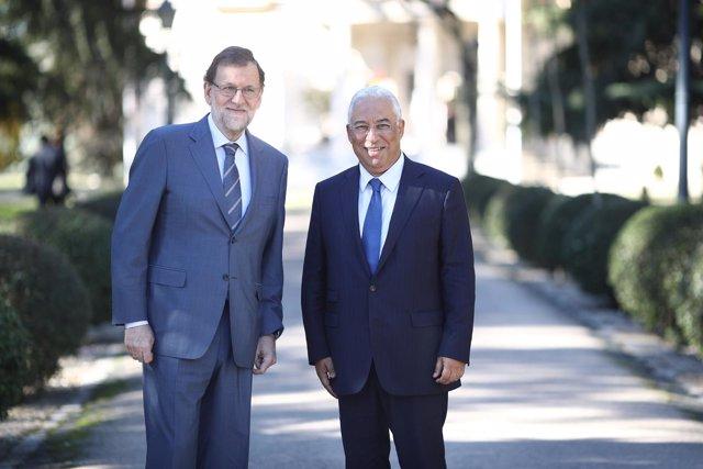 Mariano Rajoy recibe en la Moncloa a Antonio Costa