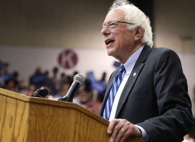 El senador demócrata Bernie Sanders