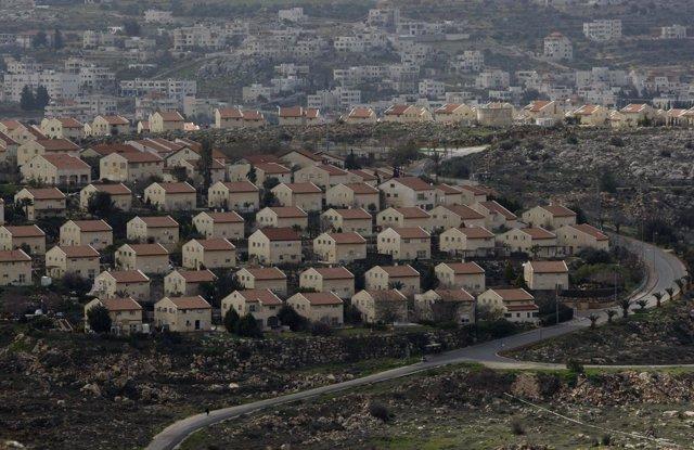 Asentamientos judíos en Cisjordania, Israel, Palestina
