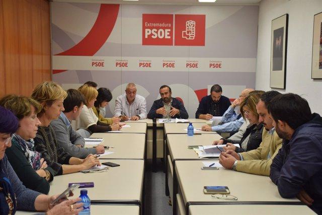 Nota, Foto Y Audio De La CEP Del PSOE