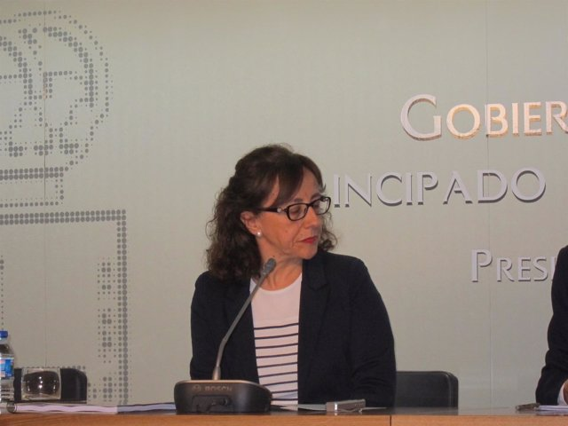 Consejera de Infraestructuras y Ordenación del Territorio, Belén Fernández