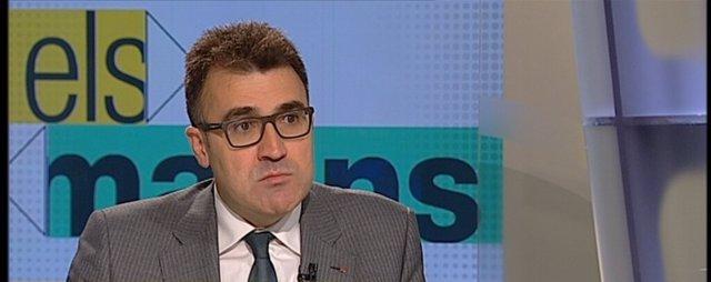 El secretario general de Hacienda del Govern, Lluís Salvadó
