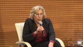 """Carmena quiere que la estructura política y jurídica de Madrid sea """"la mejor"""" para """"desarrollar empresas"""""""