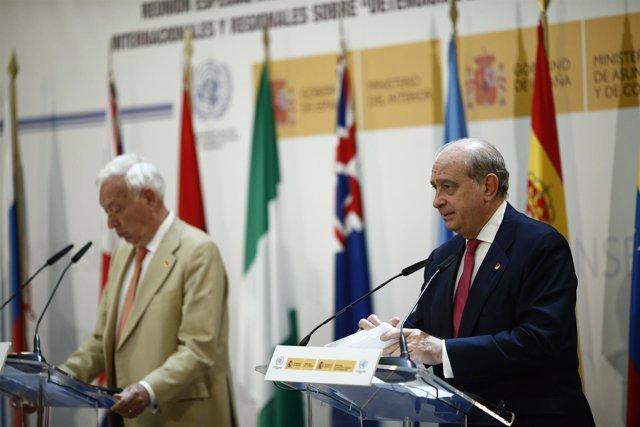 José Manuel García-Margallo y Jorge Fernández Díaz