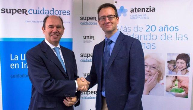 Nota De Prensa Acuerdo De Colaboración Entre SUPER Cuidadores Y Atenzia