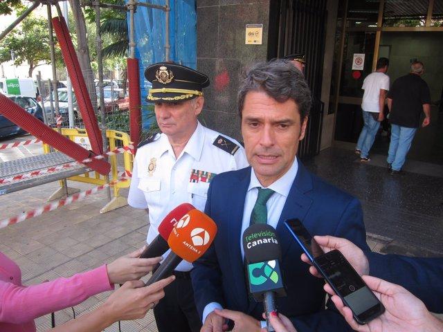 Hernández Bento, ante la comisaría