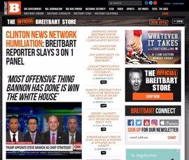 Así es Breitbart, el polémico medio que dirigía Stephen Bannon, último fichaje de Trump