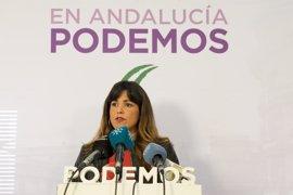 Teresa Rodríguez anuncia que Podemos Andalucía se constituye como organización autónoma