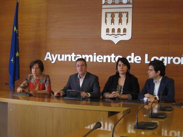 Los concejales del Grupo Municipal de Ciudadanos